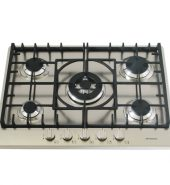 Stainless Steel Gas Cooktop + FFD & Cast Iron Trivets – 680mm Model IGC70-WOK-A