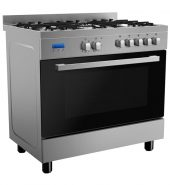 9 Function Stainless Steel Freestanding Cooker – 900mm Model FCS90