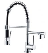 Dual Action Spring Neck Pull Out Vegie Sprayer Kitchen Mixer Tap Model VENUS-SPG-LX