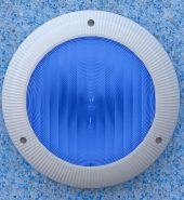 Aquaquip Surface Mount LED Pool Light c/w 20m lead (For New Pools) Model S7060212