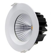 13W COB LED DOWNLIGHT – 5000K – WHITE FRAME (Model – LED-DL13WCOB-5K-W)