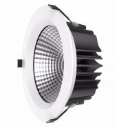LED COB DOWNLIGHT – 25W – 4000K – WHITE – IP54 (Model – LED-DL25WCOB-NW-W-IP54)