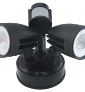 LED TWINSPOT – 26W – SENSOR – BLACK (Model –  TS-26W)