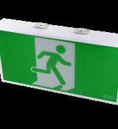 LED JUMBO EXIT BOX – 6W – 40M VIEWING